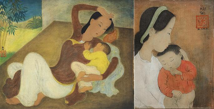 """""""Mẹ và em bé & Mẹ và em bé đang ngủ"""""""