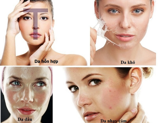 Phân loại các loại da